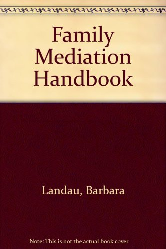 9780433423744: Family Mediation Handbook