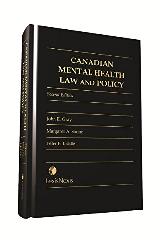9780433444473: Canadian Mental Health Law and Policy
