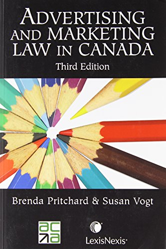 Advertising and Marketing Law in Canada: Pritchard