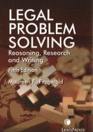 9780433463009: Legal Problem Solving - Reasoning, Research & Writing, 5th Edition