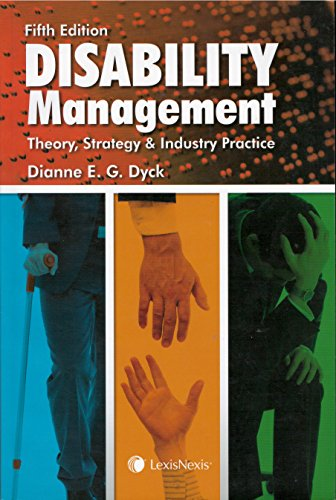 9780433472636: Disability Management - Theory, Strategy and Industry Practice