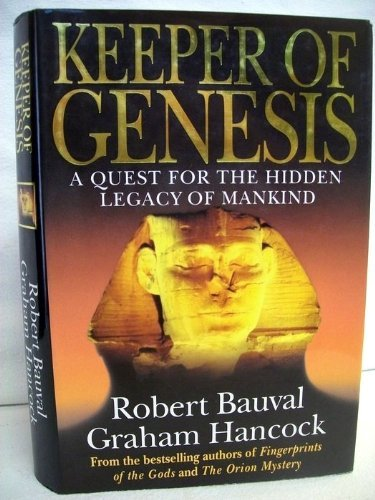 9780434003051: Keeper Of Genesis - A Quest For The Hidden Legacy Of Mankind