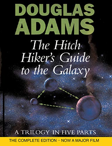 9780434003488: The Hitch Hiker's Guide To The Galaxy: A Trilogy in Five Parts: A Trilogy in Four Parts (Liftarens guide till galaxen)