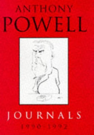 9780434004300: Anthony Powell: Journals 1990 - 1992