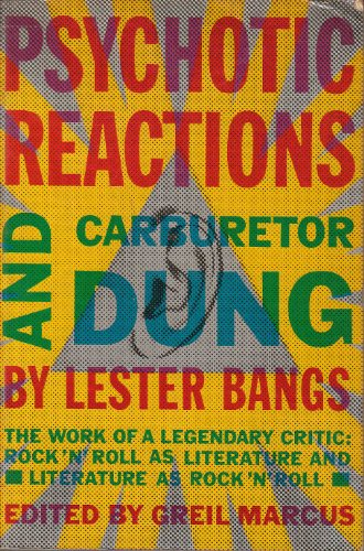 9780434044566: Psychotic Reactions and Carburettor Dung