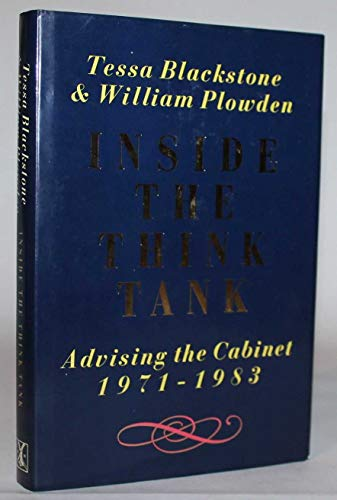 Inside the Think Tank: Blackstone Tessa, Plowden William