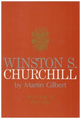 9780434130108: Winston S. Churchill: Volume IV 1917-1922