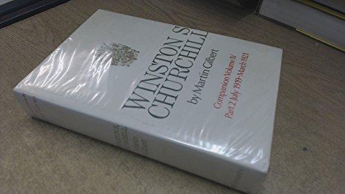 9780434130139: Churchill, Winston S.: v. 4, Companion