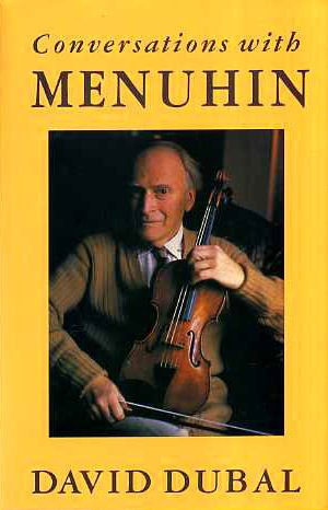 9780434216741: Conversations with Menuhin: A Celebration on His 75th Birthday
