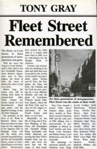 9780434277889: Fleet Street Remembered