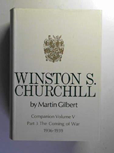 Winston S. Churchill, Companion Volume V - in Three Parts, complete: Part 1 - The Exchequer Years ...