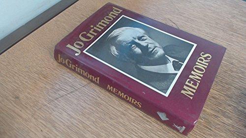 Jo Grimond Memoirs: Grimond Jo