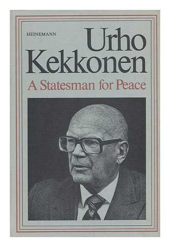 9780434397051: Uhro Kekkonen: Statesman for Peace