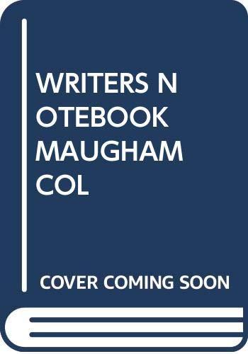 9780434456154: A Writer's Notebook