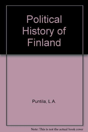 9780434604401: Political History of Finland