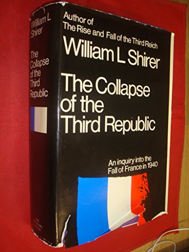 9780434696000: Collapse of the Third Republic