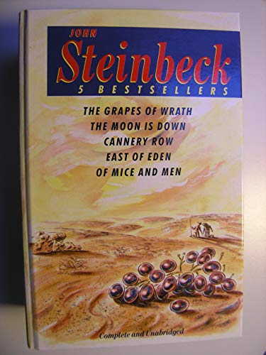 "9780434740246: Five Best Sellers: ""Grapes of Wrath"", ""Moon is Down"", ""Cannery Row"", ""East of Eden"" and ""Of Mice and Men"""