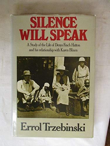 9780434795000: Silence Will Speak