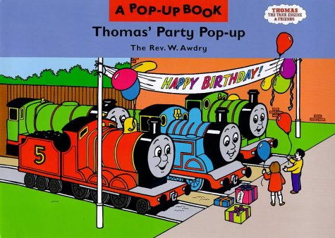 9780434805372: Thomas' Party Pop-up (Thomas the Tank Engine & Friends)