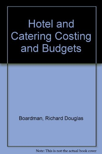 9780434901586: Hotel and Catering Costing and Budgets - AbeBooks ...