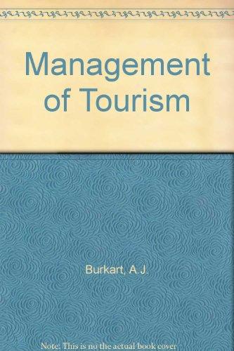 9780434901944: Management of Tourism