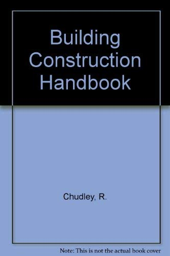 9780434902361: Building Construction Handbook