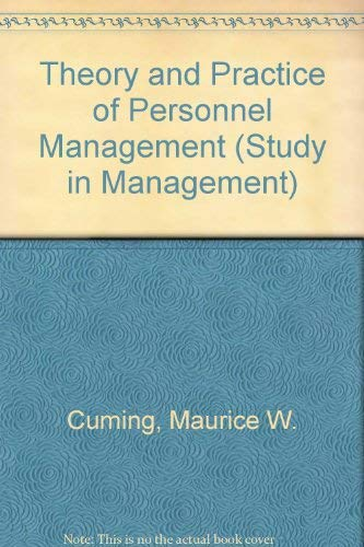 9780434902903: The Theory and Practice of Personnel Management