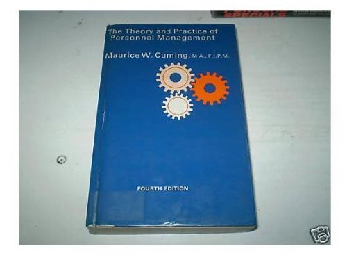 9780434902927: Theory and Practice of Personnel Management