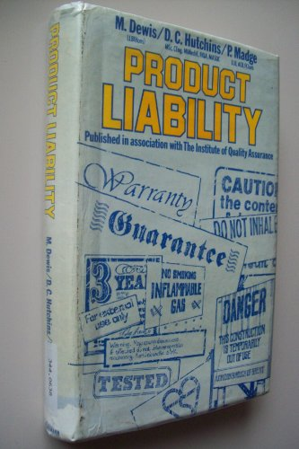 9780434903115: Product Liability