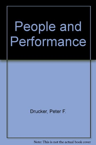 9780434904006: People and Performance