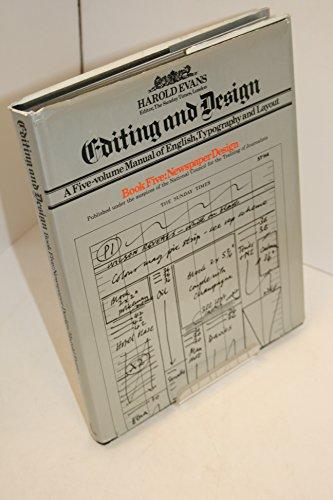 9780434905546: Editing and Design: Newspaper Design Bk. 5