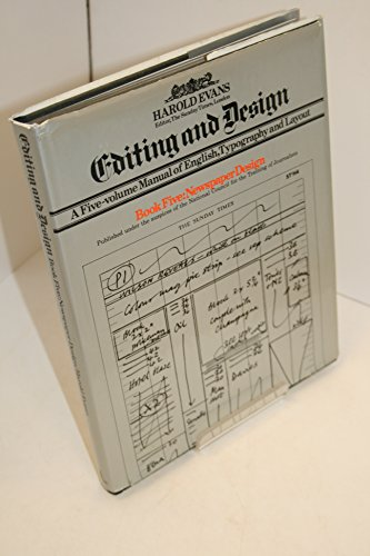 9780434905546: Editing and Design Book 5: Newspaper Design (An illustrated guide to layout)