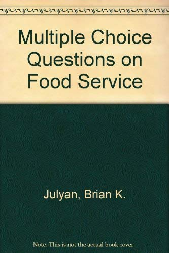 9780434909308: Multiple Choice Questions on Food Service
