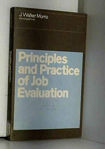 9780434912568: Principles and Practice of Job Evaluation