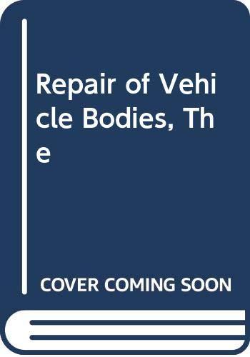 9780434917396: REPAIR OF VEHICLE BODIES