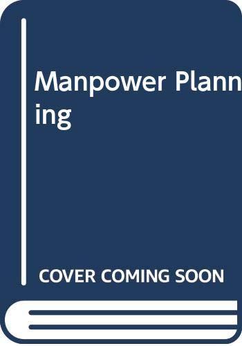 9780434918508: Manpower Planning (Heinemann studies in management)