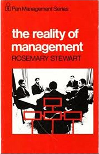 9780434918638: The Reality of Management