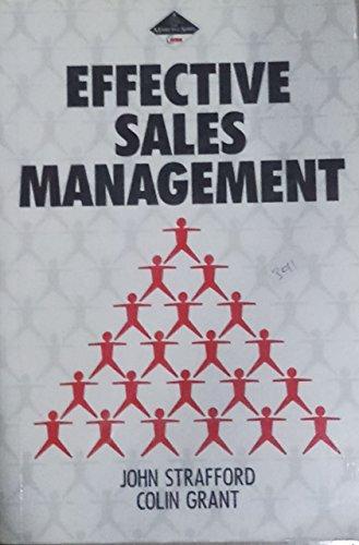 9780434918805: Effective Sales Management