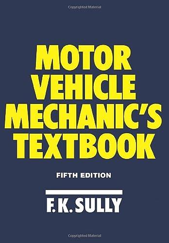 9780434918843: Motor Vehicle Mechanic's Textbook