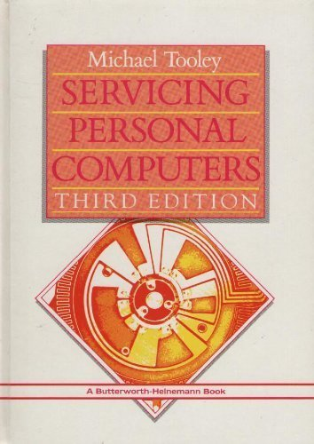 Servicing Personal Computers 9780434919758 This book sets out the principles and practice of personal computer servicing in a handy reference manual. It contains a wealth of information, including a large number of circuits and block diagrams. Some of the latest software diagnostic routines have been included together with listings and, where appropriate, actual screen dumps. This fourth edition has been completely rewritten to cover the latest technology such as 32-bit microprocessors and serial communications servicing. Although silicon technology is inherently very reliable, the complexity of today's personal computers renders them prone to failure from a number of common causes - and some that are not quite so common! In addition, other parts of the system (including such peripherals as tape and disk drives, printers, modems and monitors) may require routine adjustment and preventive maintenance. This completely rewritten fourth edition still covers the whole range of microcomputer equipment, but now also gives a guide to developments and trends such as the new generation of diagnostic software, code for which is included in the book, and applications such as serial communication, and memory and hard disk management. Reviews of previous editions 'A real gem. Some necessary theory is put over brilliantly...excellent chapters on equipment and trouble shooting, and the packed book ends up with a magic reference section.' Computer in Schools 'This book is worth having to test equipment usage techniques alone - the other information is a bonus.' Electronic Technology 'Welcome indeed is Michael Tooley's exhaustive but easy-to-use book...it will go a long way to overcoming the awful problem of equipment faults.' Laboratory Equipment Digest 'At last a crucial gap in the huge pile of microcomputer literature is filled - and this book fills the gap so well it'll be hard to beat.' Education Equipment 'A very worthwhile publication.' Television 'This is an excellent book an