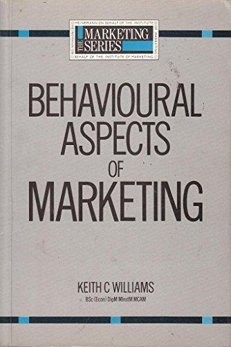 9780434923007: Behavioural Aspects of Marketing