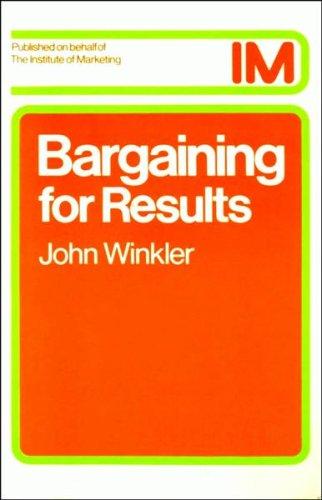 Bargaining for Results: Winkler, John
