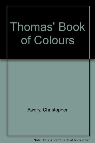 9780434928248: Thomas' Book of Colours