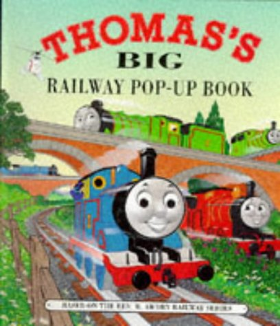 9780434960675: Thomas's Big Railway Pop-up Book
