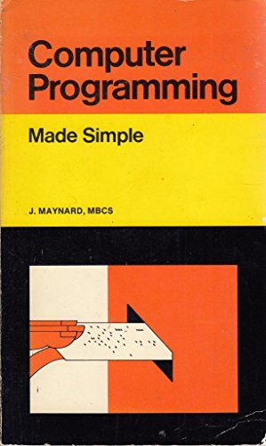 9780434984824: Computer Programming (Made Simple Bks.)