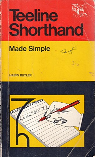 Teeline Shorthand (Made Simple Books) (9780434985005) by Harry Butler
