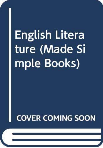9780434985531: English Literature (Made Simple Books)