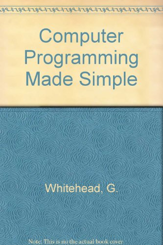 9780434985586: Computer Programming Made Simple