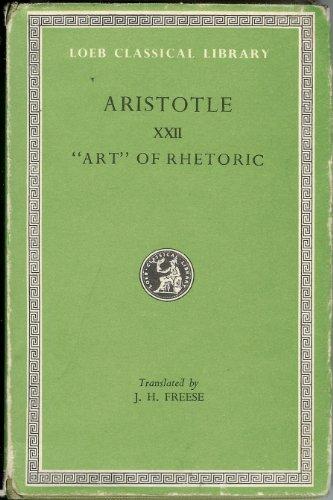 9780434991938: Rhetoric (Loeb Classical Library)