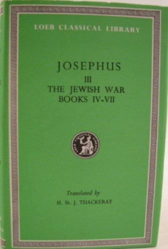 9780434992102: Works: Jewish War Vol 3 (Loeb Classical Library)